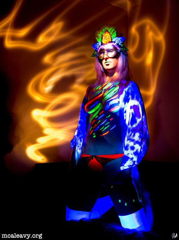 """Fleur - Model: <a href=""""http://mcaleavy.org/models/quinn/"""">Quinn</a> Series: <a href=""""http://mcaleavy.org/projects/masked/"""">Masked</a>"""