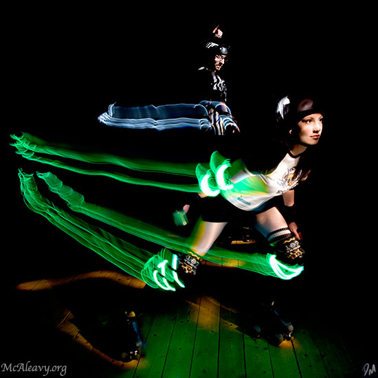 "Lead Jammer - <a href=""http://mcaleavy.org/models/meg/"">Meg</a> Image Series: <a href=""http://mcaleavy.org/projects/rollergirls/"">Rollergirls</a>"