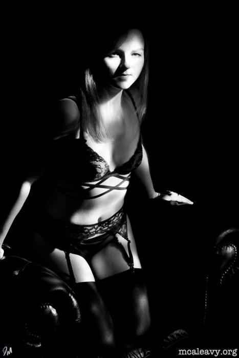 "Noir - <a href=""http://mcaleavy.org/models/kitty/"">Kitty</a>"