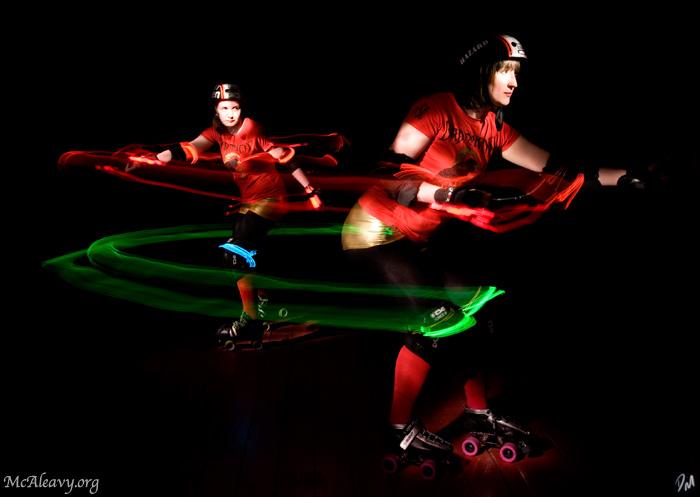 """Whip - <a href=""""http://mcaleavy.org/models/hazard/"""">Hazard</a> Image Series: <a href=""""http://mcaleavy.org/projects/rollergirls/"""">Rollergirls</a>"""